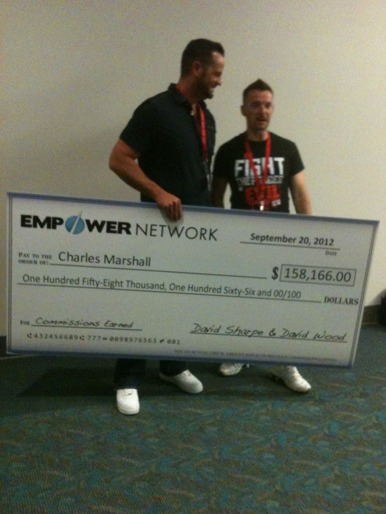 Chuck Marshall's Empower Network commission
